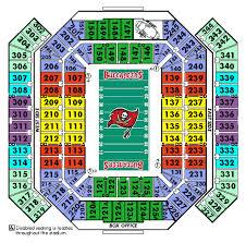 Raymond James Stadium Seating Chart Club Level Raymond James Stadium Seating Chart Club Level Www