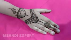 Mehndi Designs For Kids Modern Style Simple Mehndi Or Henna Design For Kids Step By Step Tutorial