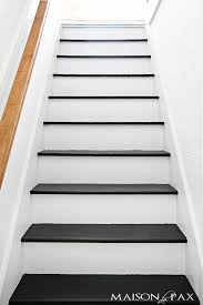 white and black staircase staircase wall painting ideas