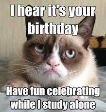 grumpy cat birthday quotes. Interesting Birthday Grumpy Cat Birthday Meme Funny Throughout Quotes