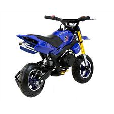 super motard 50cc 48cm blue mini moto bike