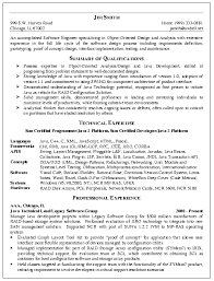 Software Engineer Resume Example Resume Example Technical Software
