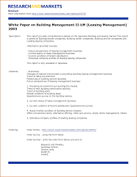 White Paper Format 8 White Paper Templates Authorizationletters Org