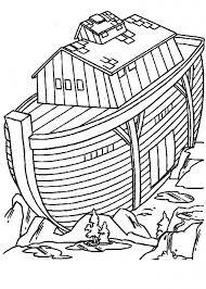 Bijbelse Kleurplaten Ark Van Noach Kleurplaat Ark Van Noach Within