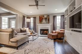 Dallas Taupe Couch Living Room Transitional With Tv Cabinet Tufted Area Rugs Sectional Sofas
