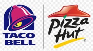 pizza hut logo transparent. Exellent Logo Taco Bell U0026 Pizza Hut Logo  Transparent With T