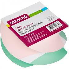 <b>Attache Блок для</b> записей спиралевидный цветной 8х8х5 см ...