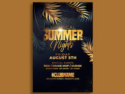 Classy Summer Party Flyer Template By Hotpin On Dribbble