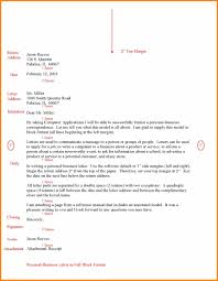 4 Block Format Business Letter Template Report Examples