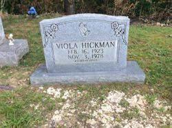 Viola Bull Hickman (1923-1978) - Find A Grave Memorial