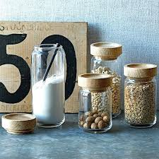 glass canisters with wood lids cream ceramic storage jars with wooden lids designs glass canister set