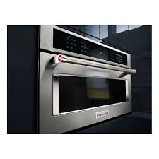 kitchenaid 27 1 4 cu ft 900w built in convection microwave