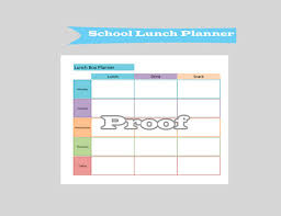 30 Lunch Menu Templates Free Sample Example Format Download Inside ...