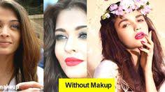 top 10 bollywood glossy actress without makeup 2017