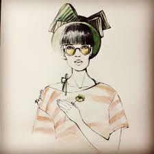 блог юлии каюды девушки модели и просто рисунки