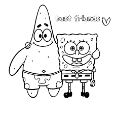 Small Picture Words Best Friends Coloring Page Wecoloringpage Coloring Home