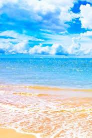 beach wallpaper blue
