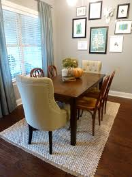 how big should my dining room rug be area ideas