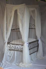 a handmade bed for a prince or princess