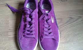puma shoes purple and black. new puma suede classic trainers size 7.5 women\u0027s shoes purple,puma slippers,puma outlet purple and black a