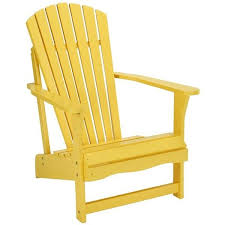 yellow patio furniture. adirondack patio chair yellow 190 liked on polyvore featuring home furniture p