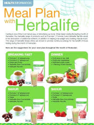 Herbalife Meal Plan Diet Plan Herbalife Diet Plan Weight Gain Diet Plan Herbalife