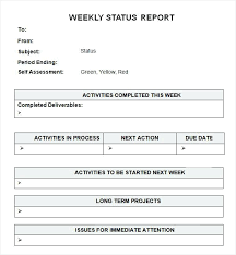 Executive Summary Project Status Report Template Cool Weekly ...