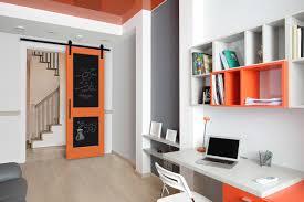 office barn doors. Use Masonite Barn Door Hardware And A Chalkboard To Help You Focus. Home- Office Doors