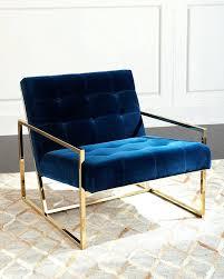 blue velvet accent chair. Blue Velvet Accent Chair Modern Electric Navy Sashes Regarding Dark Upholstered . O