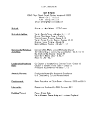 High School Graduate Resume Fascinating Sample Resume For High School Graduate L28 Best Essays Writing