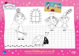 Ben And Holly Colouring Pages Ben And Holly Coloring Pages Az