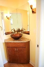 corner bathroom vanity mirror