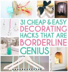 31 borderline genius decorating hacks diy cozy home