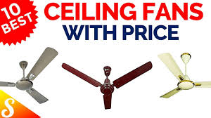 best ceiling fans in india with