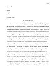 rhetorical analysis of a modest proposal outline homework emma  7 pages a modest proposal essay 1