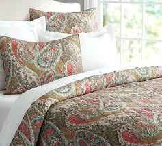 red paisley bedding cal king designs comforter sets