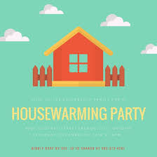 Housewarming Party Time Invitation Templates By Canva