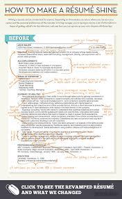 How to make a resume shine #Infographic via @CareerBuilder