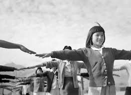 farewell to manzanar an essay on the book farewell to manzanar  camp life at manzanar female internees practicing calisthenics 1943