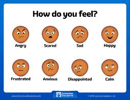 How I Feel Chart Csefel Feelings Chart Mood Chart For Child