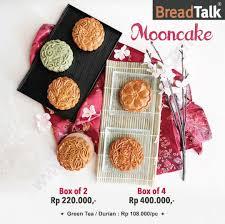 Breadtalk Promo Moon Cake Harga Mulai Rp 220000 Katalogpromosi