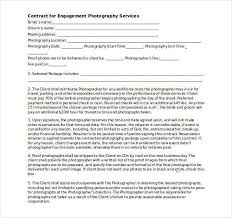 Photography Contract Template Word 20 Photography Contract
