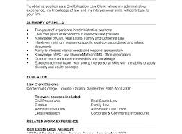 Civil Law Attorney Resume – Resume Web