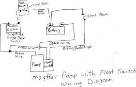 mayfair bilge pump with float wiring diagram page 1 iboats how to install shurflo water pump at Shurflo Pump Wiring Diagram