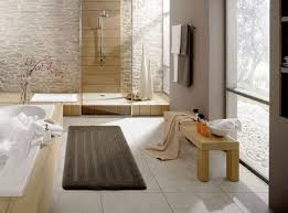 image of modern bathroom rugs mats