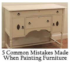furniture painting techniques5 Common Mistakes Made When Painting Furniture