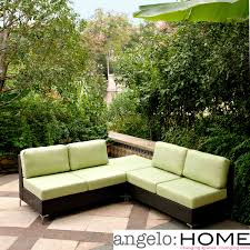 outdoor wicker furniture green photo 1