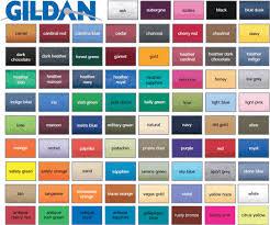 T Shirt Color Chart Sarasota Embroidery T Shirt Online Shirt Catalog Color