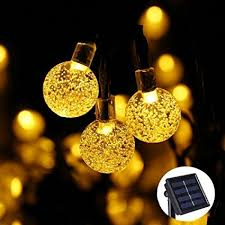 solar patio string lights. Simple Lights ACE HOME Solar Patio String Lights LED Christmas Lights 20ft6m In Lights D