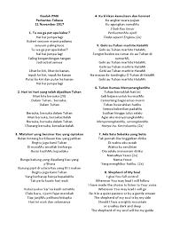 Lagu Ibadah